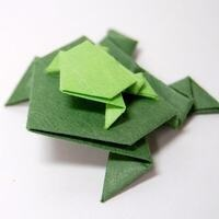 "One Richmond, One Book: ""Friendship According to Humphrey"" - Origami Frogs"