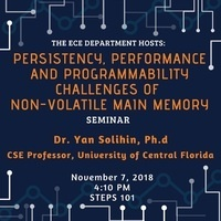 Seminar: Dr. Yan Solihin  | Electrical and Computer Engineering