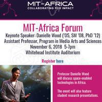 MIT-Africa Forum Presents Prof. Danielle Wood