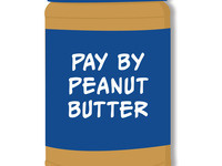 Pay By Peanut Butter