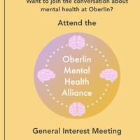 Oberlin Mental Health Alliance General Interest Meeting