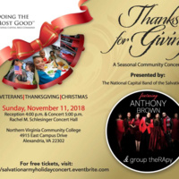 Thanks for Giving - A Seasonal Community Concert