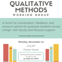 Qualitative Methods Working Group | LTS