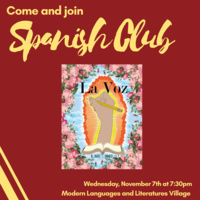 Come and Join Spanish Club