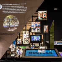 Permanent exhibit opening: The Boulder Experience
