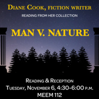 Diane Cook, Author Reading and Reception
