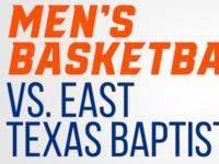 Bearkat Men's Basketball vs. East Texas Baptist