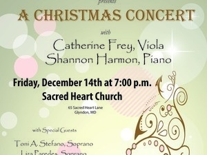 4th Annual Sacred Heart Christmas Concert Features a Dynamic Cast of Local Female Artists