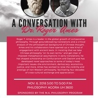 A Conversation with Roger Ames