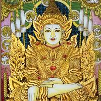 """Vanishing Art from Myanmar:  Buddhist Reverse Glass Painting Traditions Exhibition"""