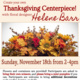 CLASS FULL - Thanksgiving Centerpiece Workshop