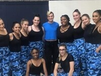 Lasell College Pulse Dance Team Dance Competition