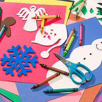 Popsicle Stick Sleds and Other Holiday Crafts