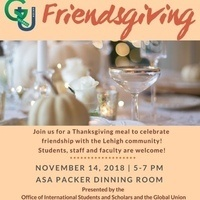 International Week 2018 - Friendsgiving (RSVP Required) | Global Union