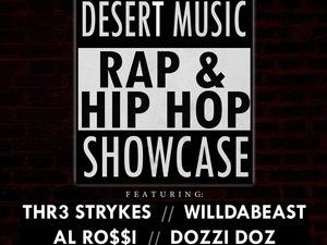 CV Weekly Presents: Desert Music Rap and Hip-Hop Showcase
