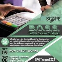 SCOPE: Defining Subprime lenders vs Credit Unions