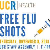 UCR Health - Free Flu Shots