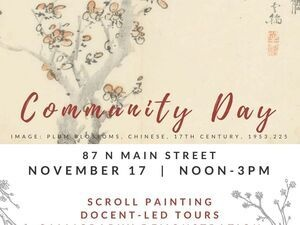 AMAM Community Day: Hanging Scrolls