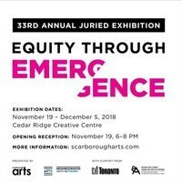 33rd Annual Juried Exhibition: Equity Through Emergence