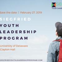 SIEGFRIED YOUTH LEADERSHIP PROGRAM™ (SYLP)