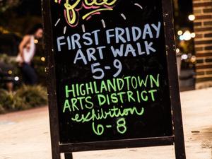 Highlandtown First Friday Art Wak