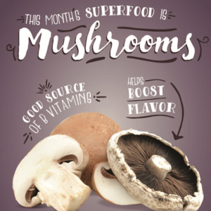 Super Food Tuesday at Hieber Cafe: Mushrooms