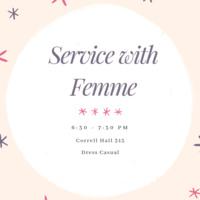 Women in Tech: Femme Service Event