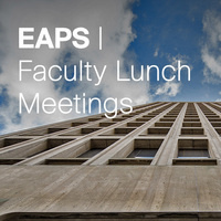 EAPS Faculty Lunch - Special Guest: Rafael Reif