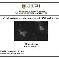 PhD Dissertation Public Lecture: Donglai Shen | Biological Sciences