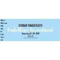 Lehigh Panhellenic Formal Recruitment Registration
