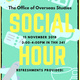 Study Abroad Social Hour
