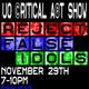 UO ©ritical A®t Show