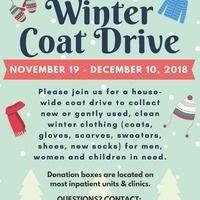 Winter Coat Drive (CUIMC, MSCH, ACN & ALLEN HOSPITAL)