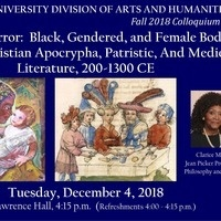 CANCELED --> Arts and Humanities Colloquium:  Clarice Martin
