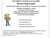 CLEMSON EXTENSION'S BROWN BAG LUNCH