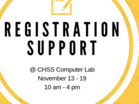 Registration Support Lab