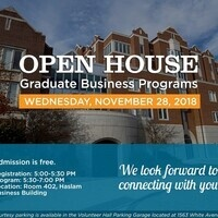 Haslam College of Business- Graduate Business Programs Open House