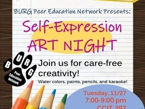 Self-Expression Art Night