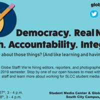 Globe Student News Open House