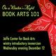 BOOK ARTS 101: On a Winter's Night