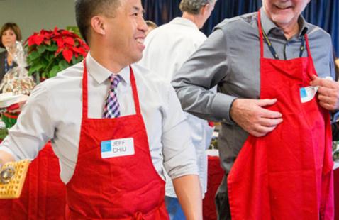 Staff Appreciation Holiday Breakfast - Mission Center Hospitals