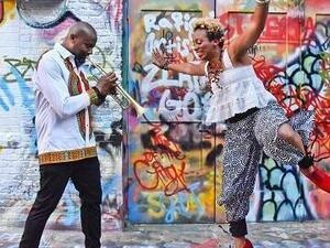 Brinae Ali and Sean Jones: Tap Dance and Trumpet