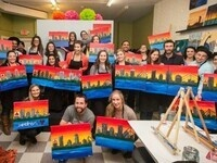 Paint Night Winter Week Event