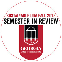 Sustainable UGA Fall 2018 Semester in Review