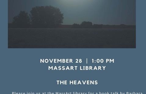 Library Talk - Barbara Bosworth : The Heavens