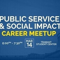 Public Service and Social Impact Career Meetup
