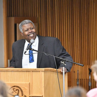 Open Forum on Pathways with Provost Clifton Sanders