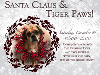 POSTPONED: Santa Claus & Tiger Paws