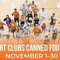 Sport Clubs Canned Food Drive