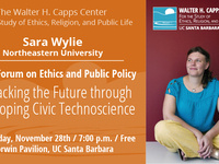 Unfracking the Future through Developing Civic Technoscience (Capps Forum on Ethics and Public Policy)